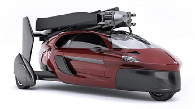 科幻变现实,汽车变飞机