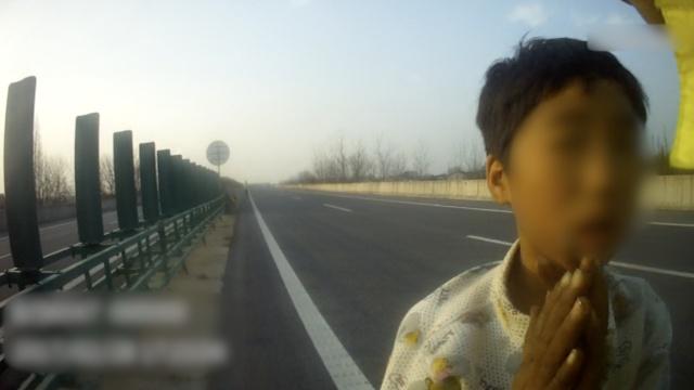 10岁女孩高速路遛狗,交警蜀黍吓坏