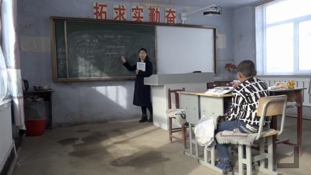 美女任教偏远村小,哪怕只一个学生