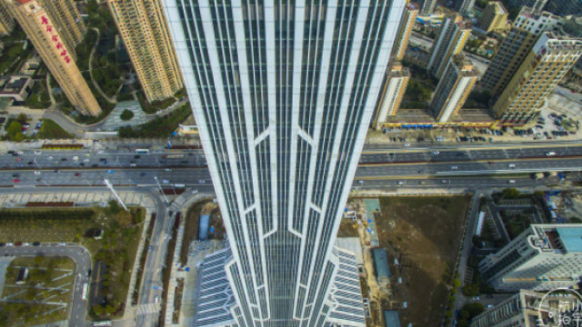 奇葩大楼酷似火箭