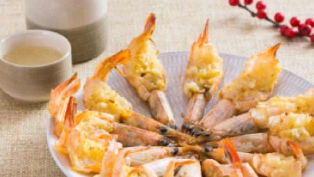 最美贺岁年夜饭-香蒜黄油黄金虾