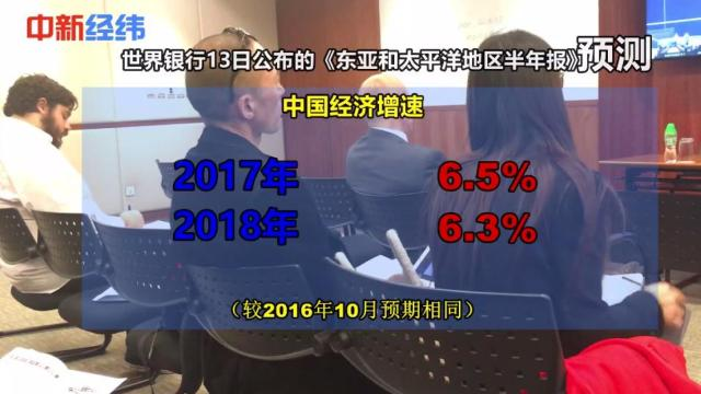 世行:维持中国今明两年经济预期