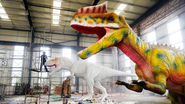 直播:白垩纪到好莱坞,恐龙如何活了