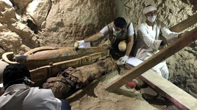 埃及3500年前古墓,主人可能是贵族