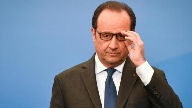 奥朗德定义巴黎枪击案:这是恐袭