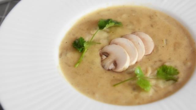 奶油蘑菇汤,竟没想到做法如此简单