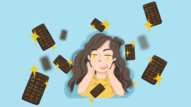 吃黑巧克力能减肥?