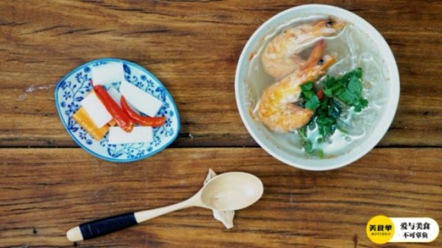 五月清淡美味——萝卜丝虾汤