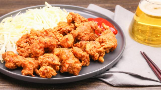 超酥脆的日式炸鸡,在家轻松做~