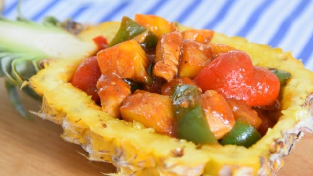 料理达人教你用菠萝入菜美味又简单