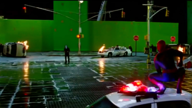 两分钟了解电影特效蓝绿幕