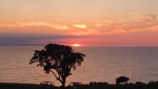 海上夕阳无限好,只是近黄昏