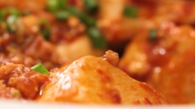 下饭神菜——麻婆豆腐,1分钟get