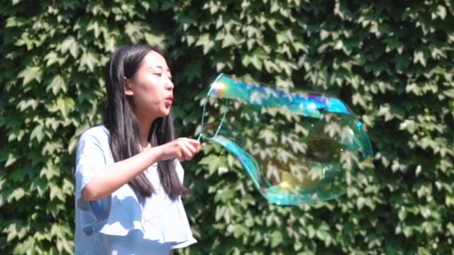 自制吹泡泡神器,追寻童年美好回忆