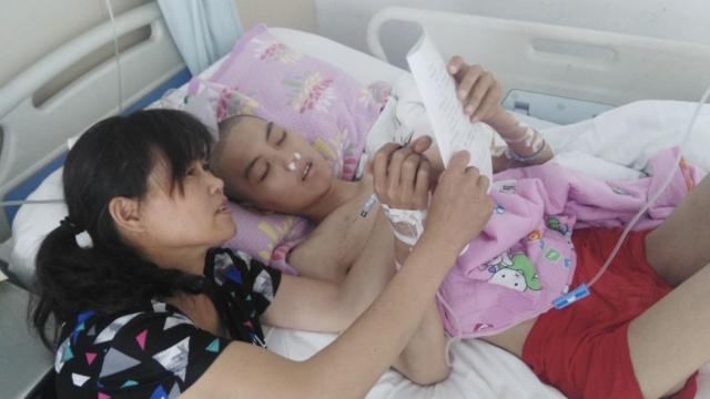 18岁小伙白血病复发,病床上捐角膜