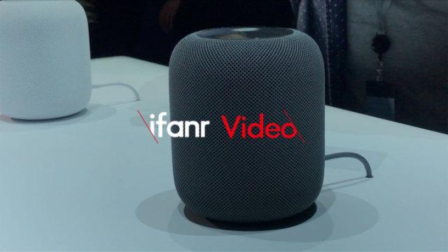 苹果 HomePod 智能音箱终亮相