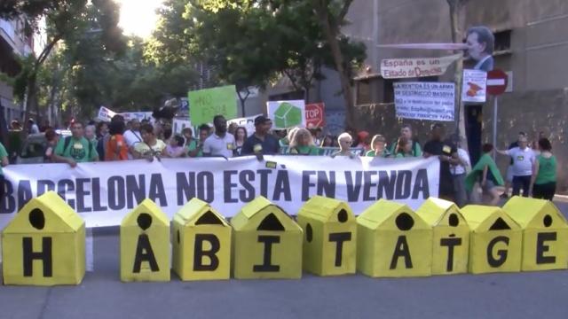 游客多房价贵!巴塞罗那民众抗议