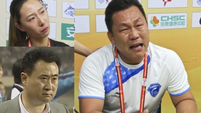 中国足球气退王健林,逼哭中甲老板