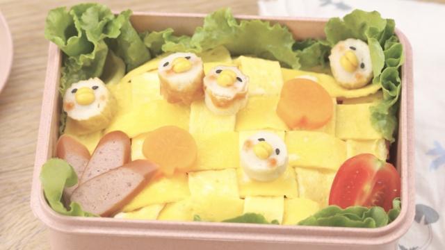 闲的没事干编织蛋包饭