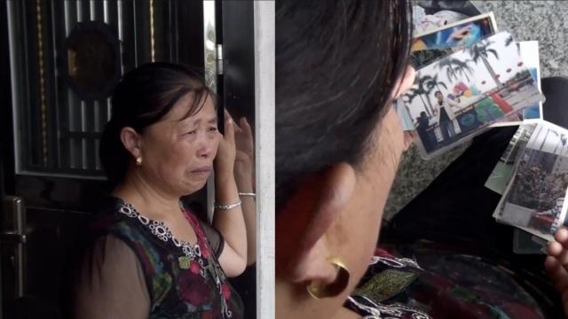 儿失踪4年母以泪洗面,倚门盼子归