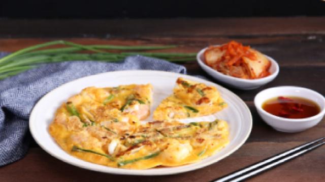泡菜海鲜煎饼,在家轻松做韩料!