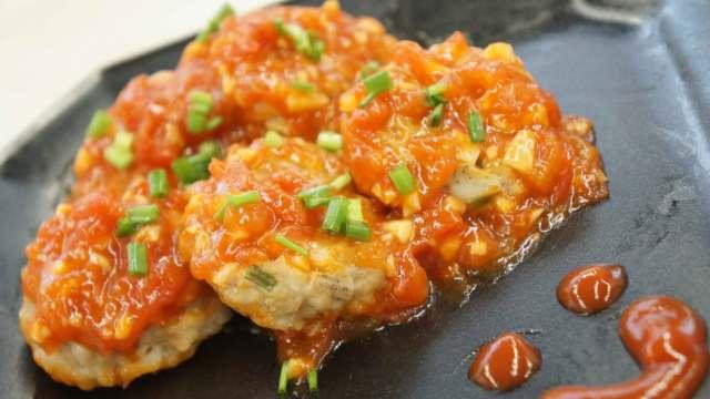 酸甜的茄汁藕饼,小孩的下饭神器!