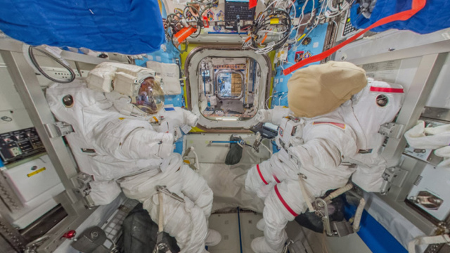 谷歌街景又添新景,就是国际空间站