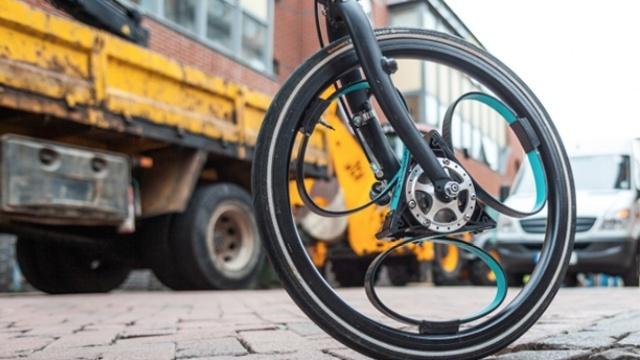 彻底颠覆传统自行车的减震模式!