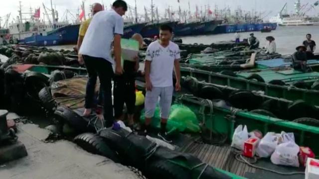 舟山:东海渔民开捕咯