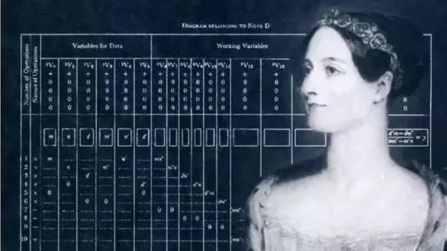 女子编程不如男?首位程序员是她!