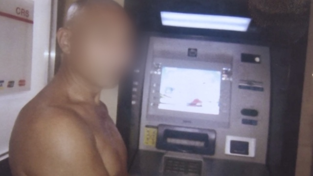 男子ATM机捡卡取7500,一直没睡好
