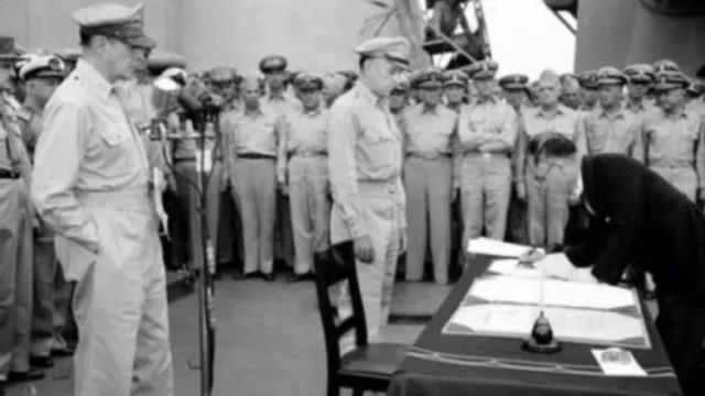 珍贵视频:73年前日本无条件投降