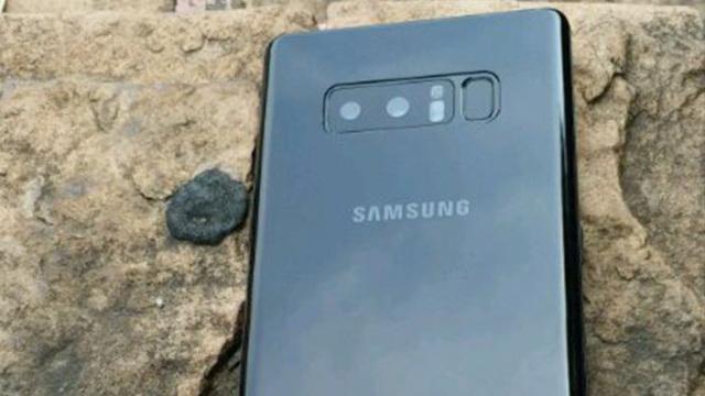 Galaxy Note 8多角度照片曝光