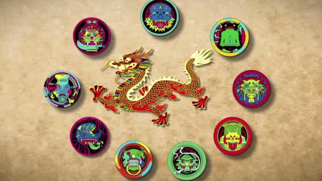 中国龙真正的9个儿子其实长这样!
