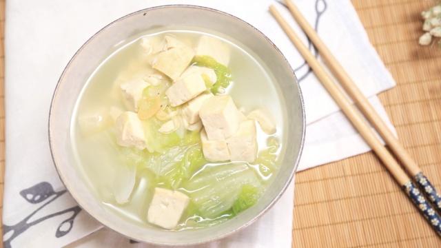 一碗极鲜美豆腐汤只要三步!