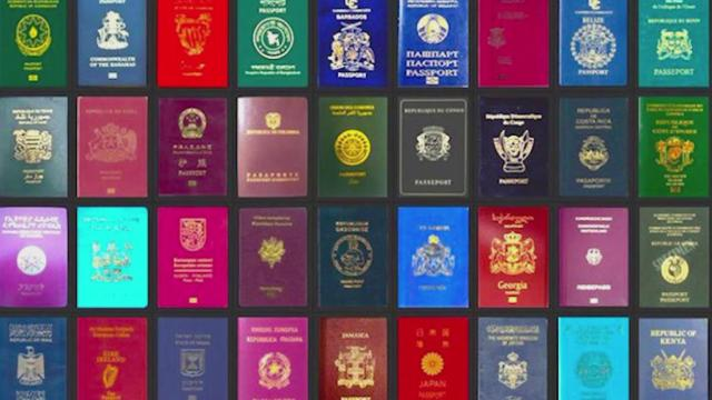 全世界的护照只有四种色系?