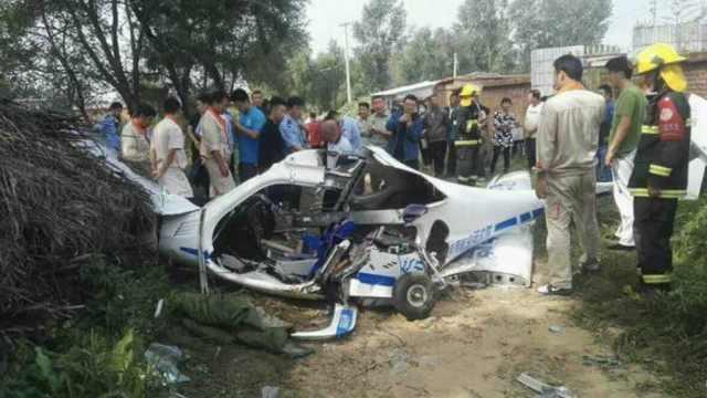 辽宁法库小飞机坠落,两飞行员受伤