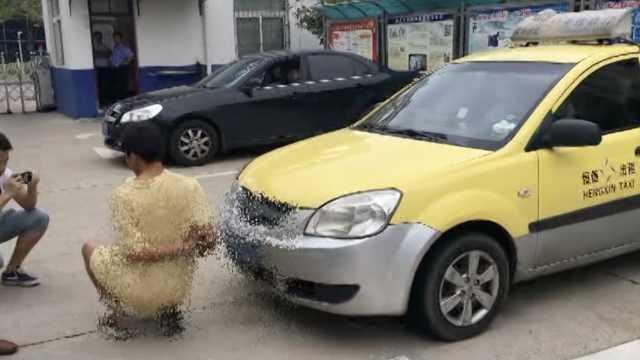 他持刀抢走出租车,又开车拉客打劫