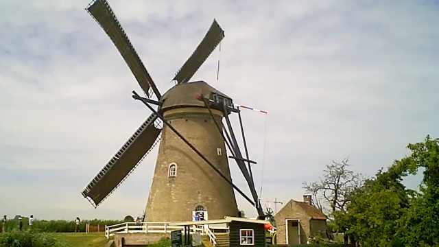 大风车吱悠悠地转,这里就是大荷兰