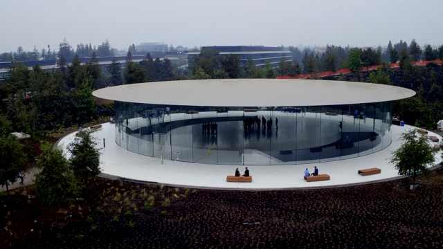 iPhone8倒计时,苹果新总部加紧收尾