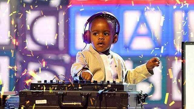 他5岁成世界最小DJ,曾夺冠达人秀