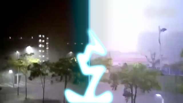 电闪雷鸣炸醒梦中人,暴雨强袭申城
