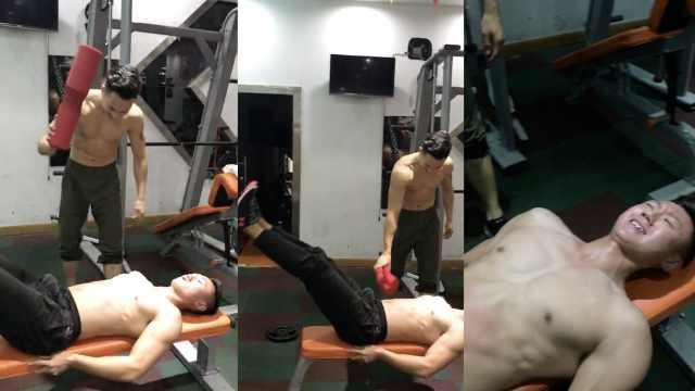 腹肌是怎样炼成的?这健身房竟这样