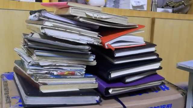 她36年写36本日记:1天不写睡不着