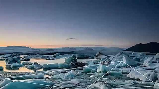 融化的北极:全球的风险