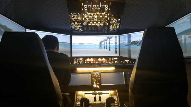 酷!来这儿当机长,还能开国产大飞机