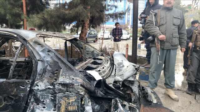 阿富汗首都自杀式爆炸,14死18伤