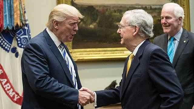 川普重大胜利:参议院通过税改法案