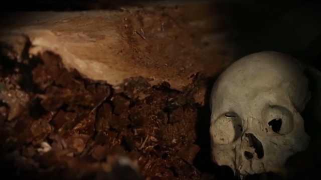 西游记里的白骨洞真存在?白骨散落