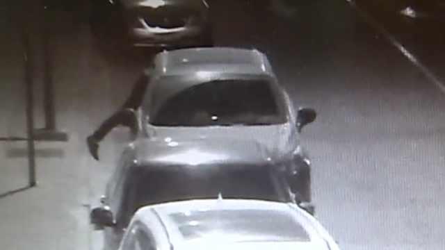 男子拆玻璃钻车窗盗窃,作案达13起